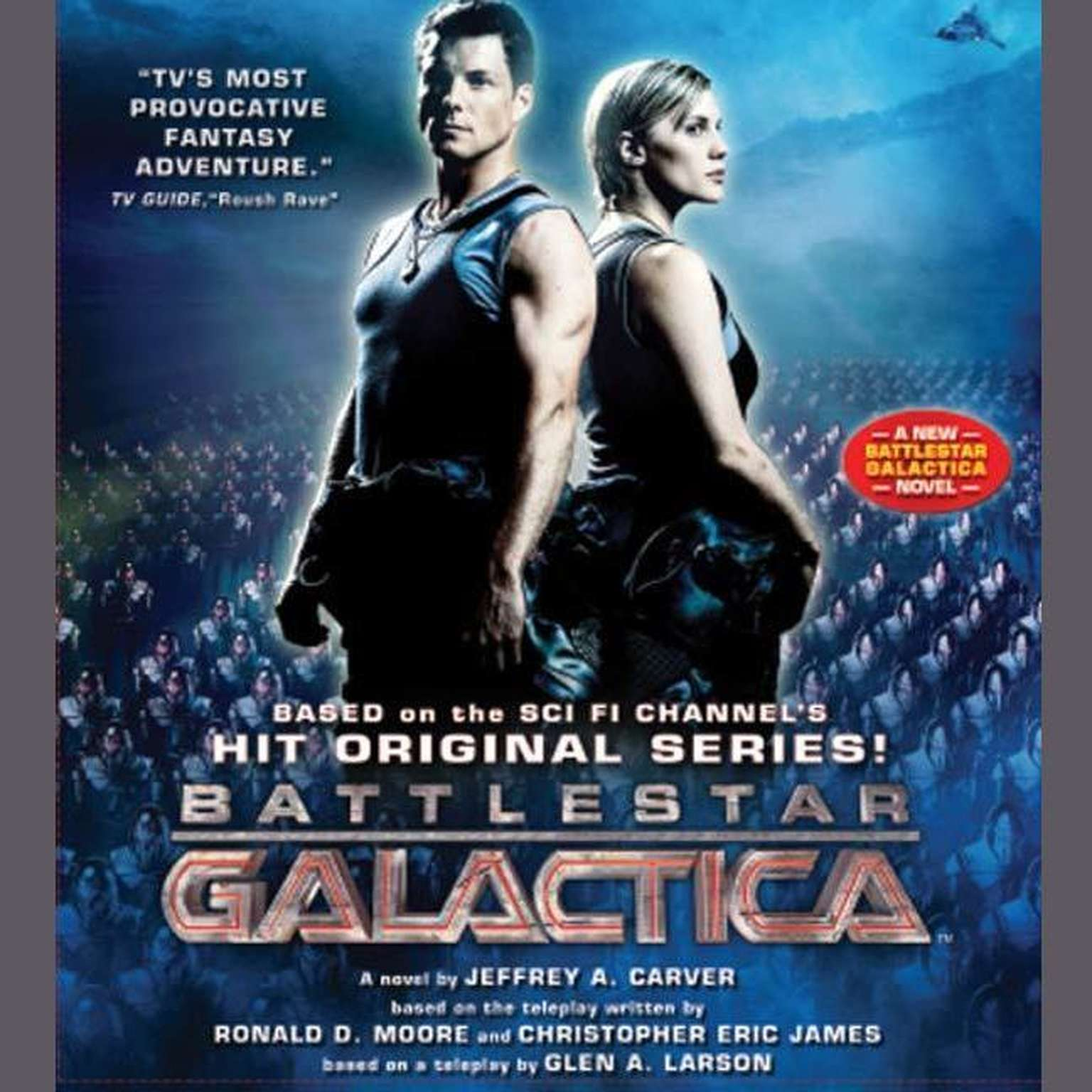Printable Battlestar Galactica Audiobook Cover Art