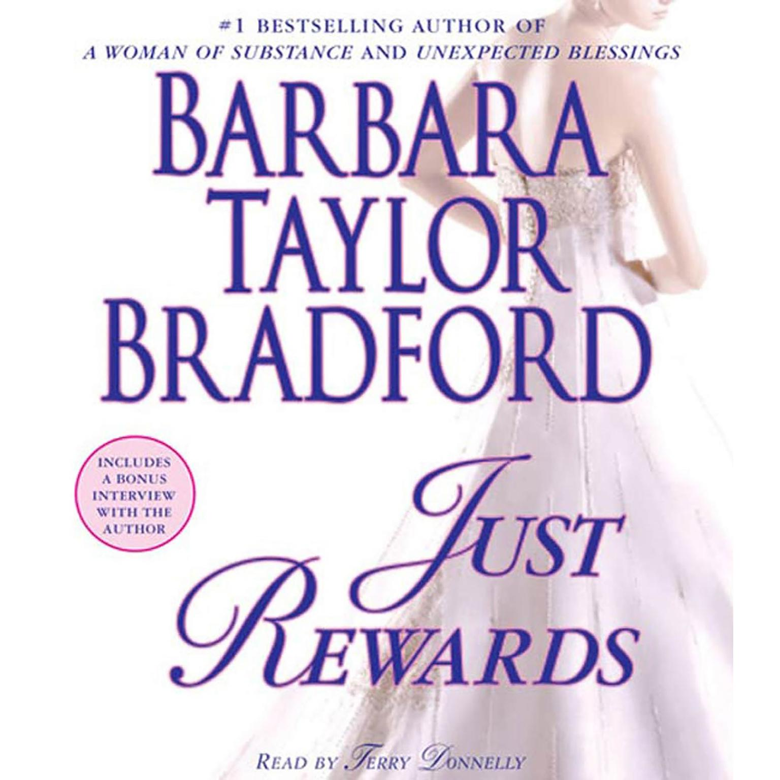 Printable Just Rewards: A Novel of the Harte Family Audiobook Cover Art