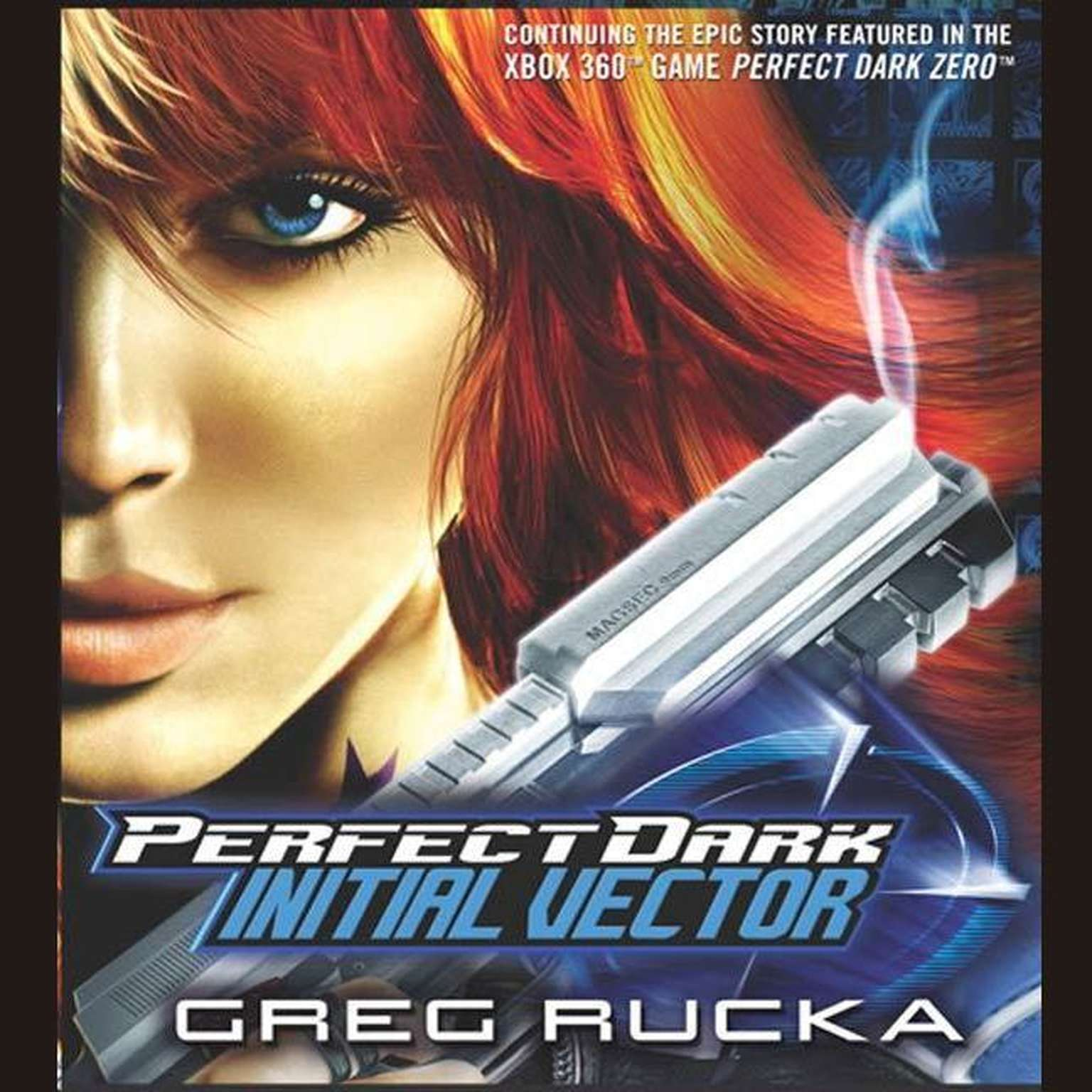 Printable Perfect Dark: Initial Vector Audiobook Cover Art