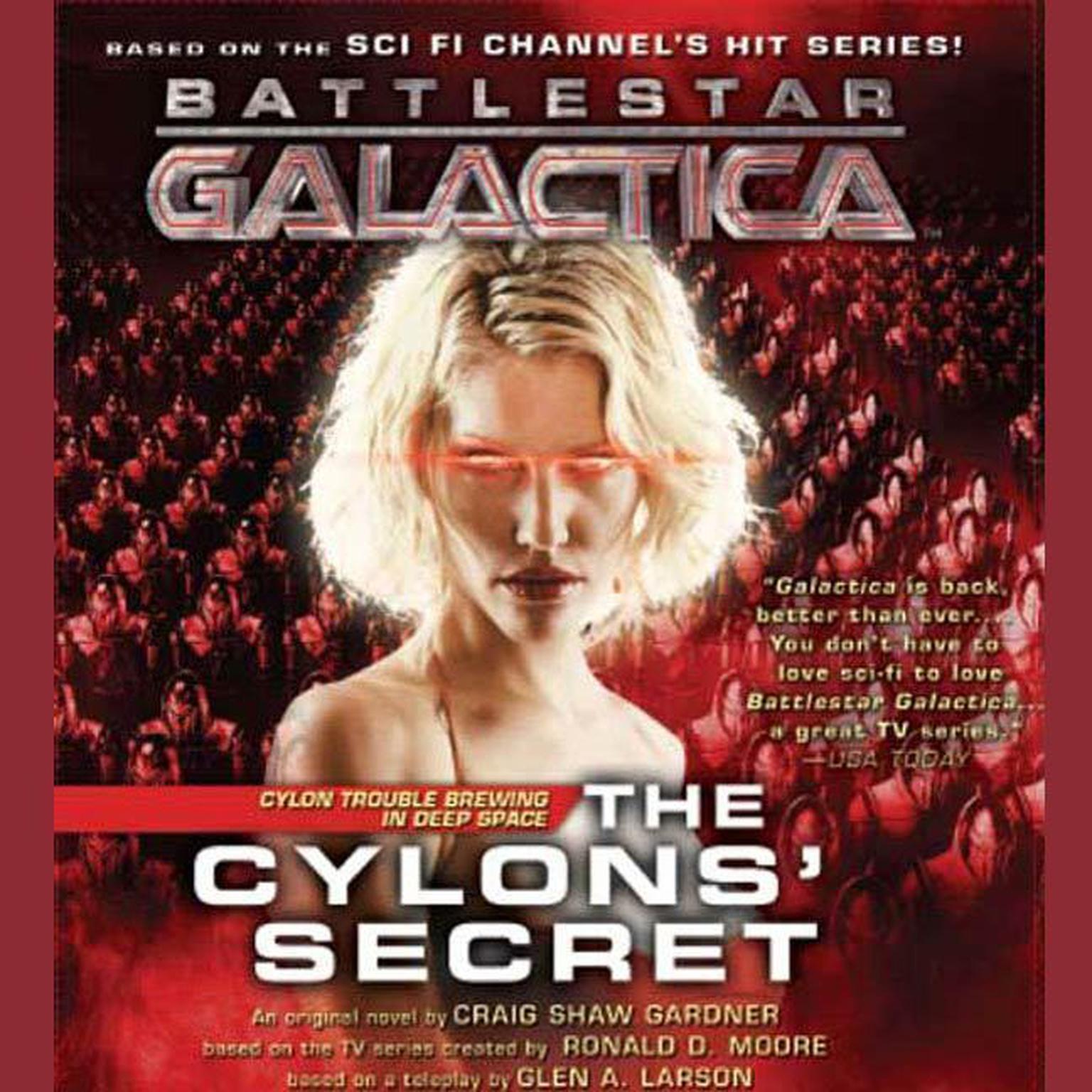 Printable The Cylons' Secret: Battlestar Galactica 2 Audiobook Cover Art