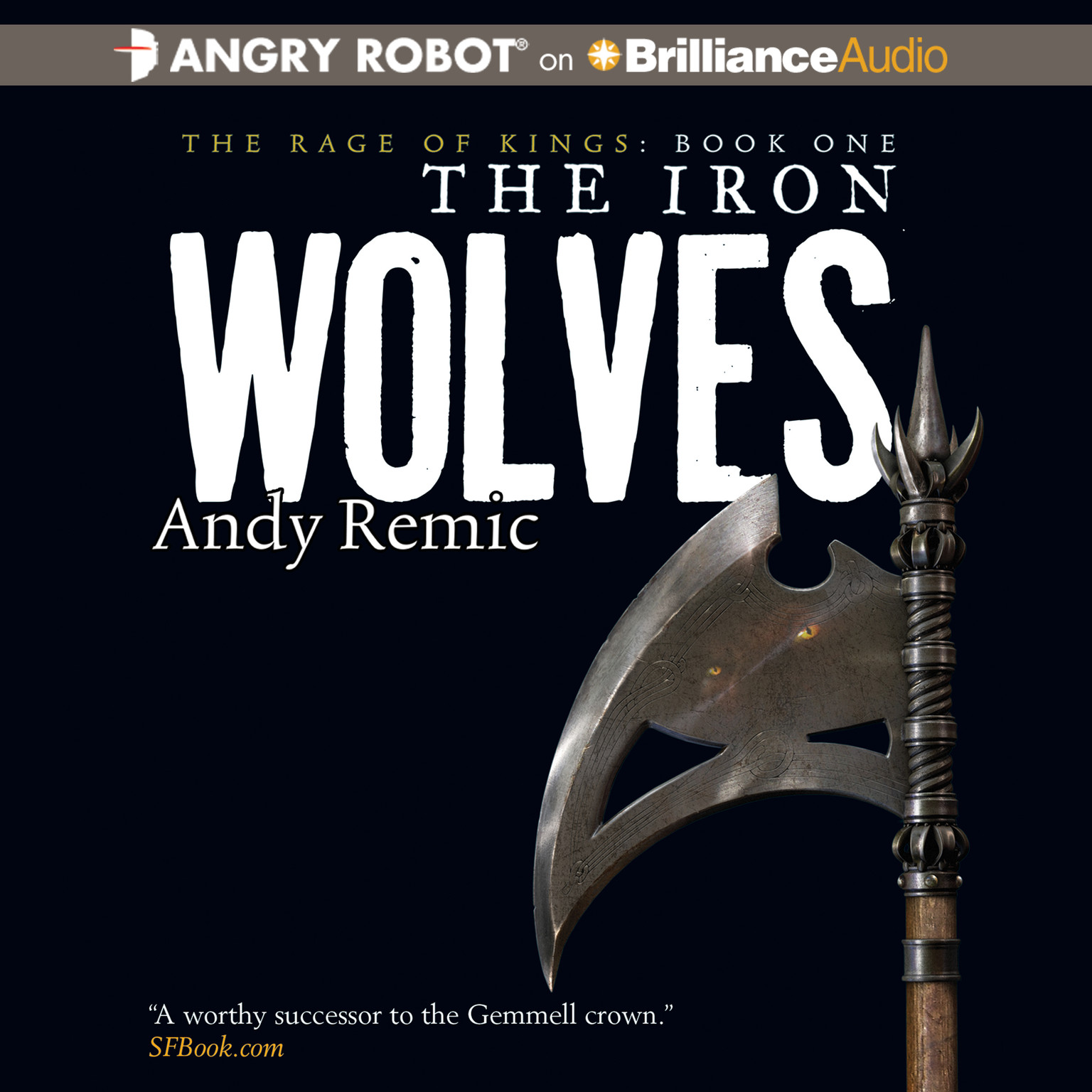 Printable The Iron Wolves Audiobook Cover Art