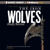 The Iron Wolves Audiobook, by Andy Remic