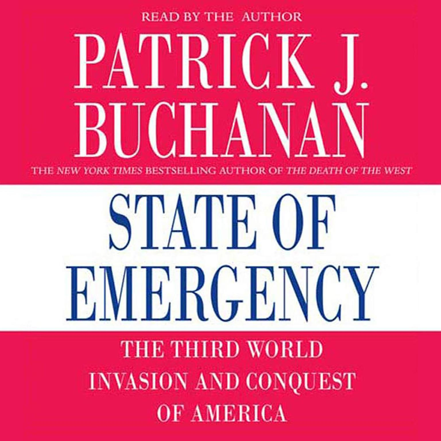 Printable State of Emergency: The Third World Invasion and Conquest of America Audiobook Cover Art