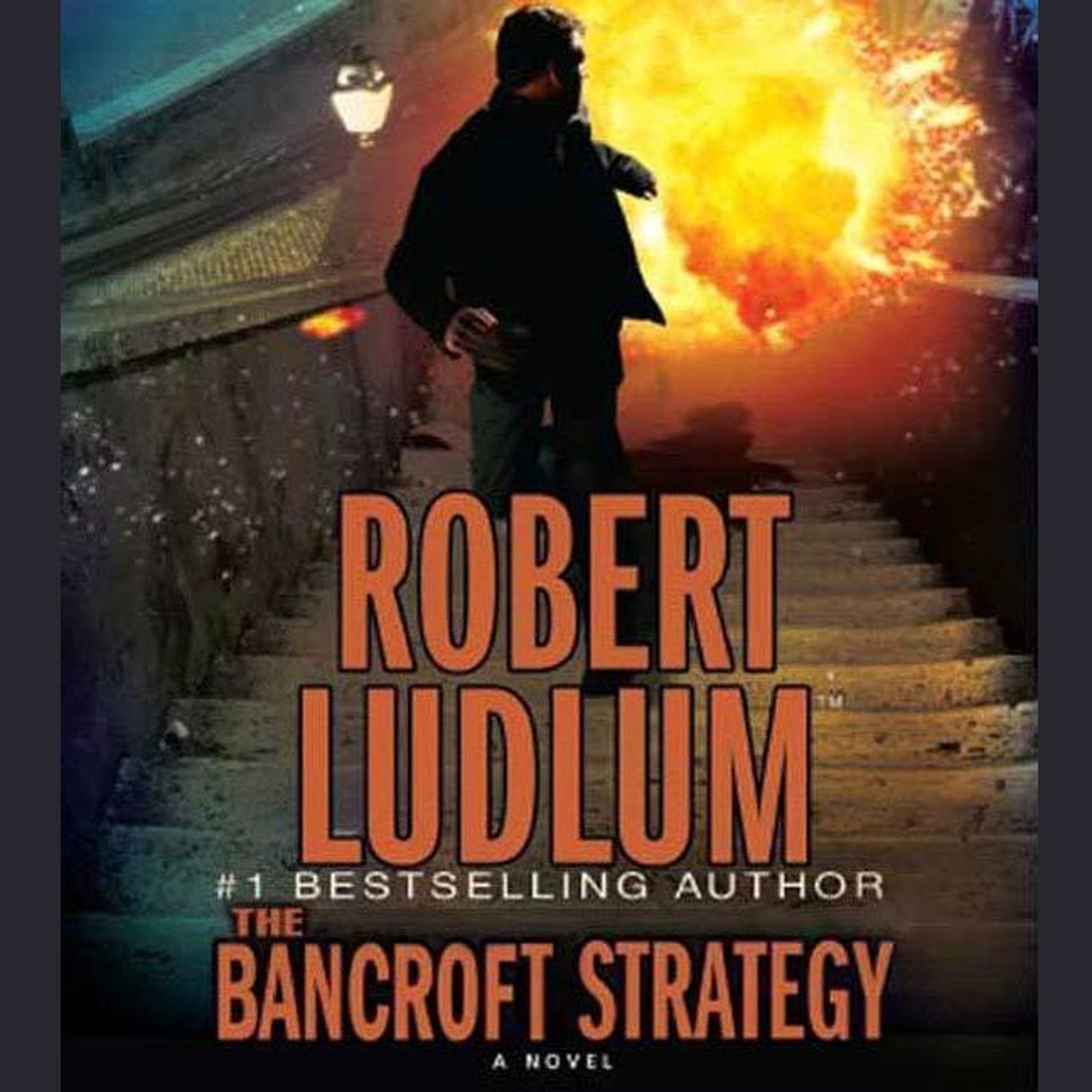 Printable The Bancroft Strategy: A Novel Audiobook Cover Art