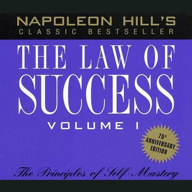 Printable The Law of Success, Vol. 1: Principles of Self-Mastery Audiobook Cover Art