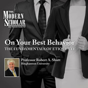 On Your Best Behavior: The Fundamentals of Etiquette Audiobook, by Robert Shutt