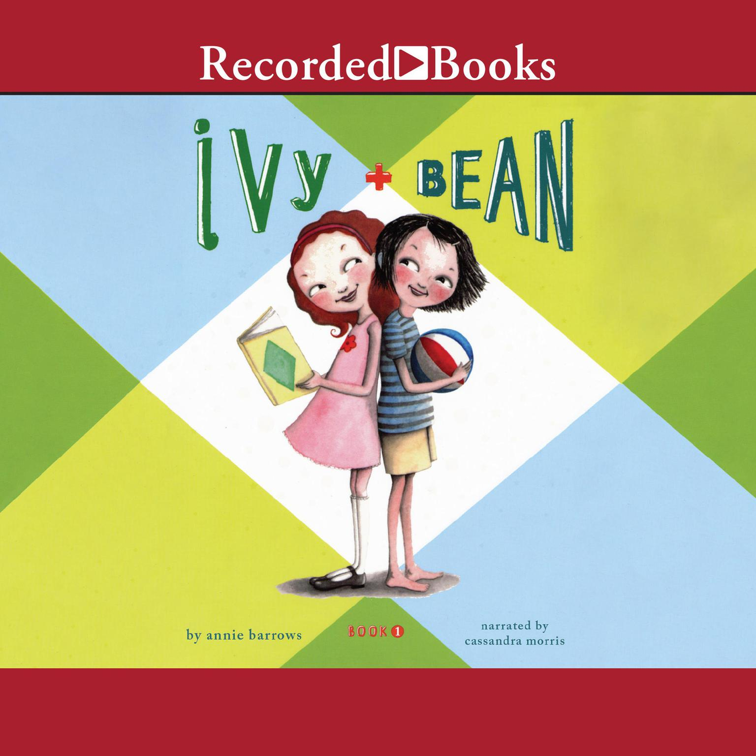 Printable Ivy and Bean Audiobook Cover Art