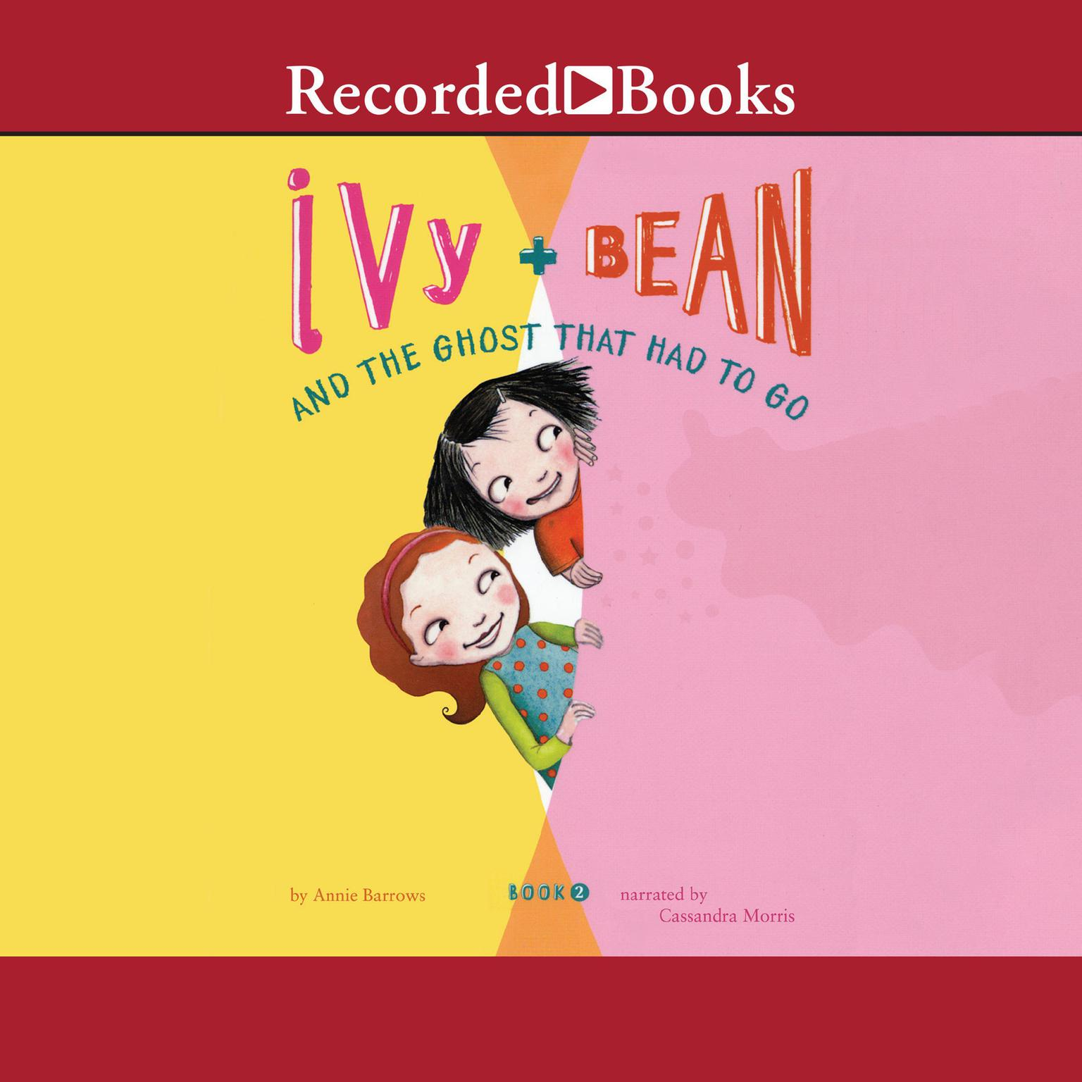 Printable Ivy and Bean and the Ghost That Had to Go Audiobook Cover Art