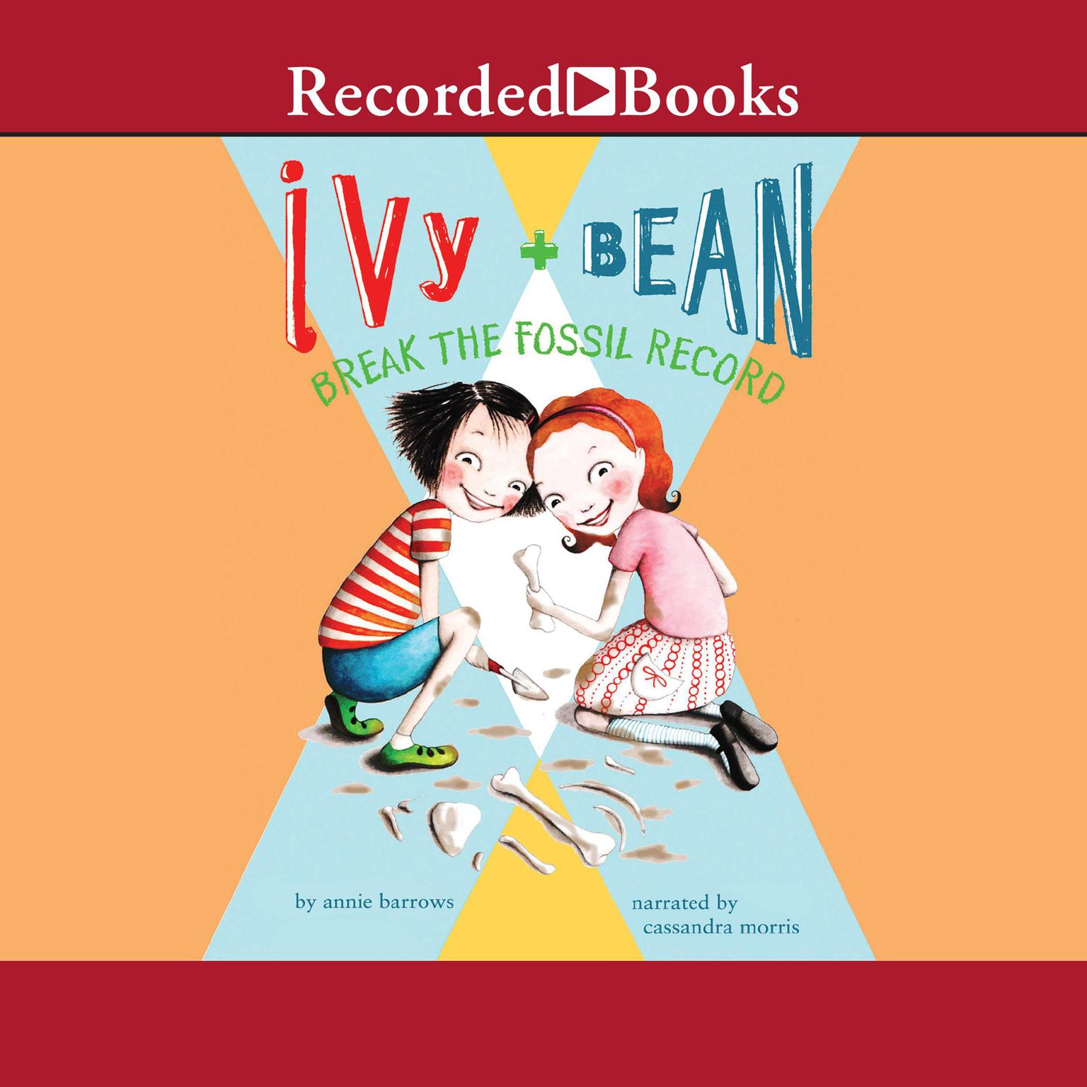 Printable Ivy and Bean Break the Fossil Record Audiobook Cover Art