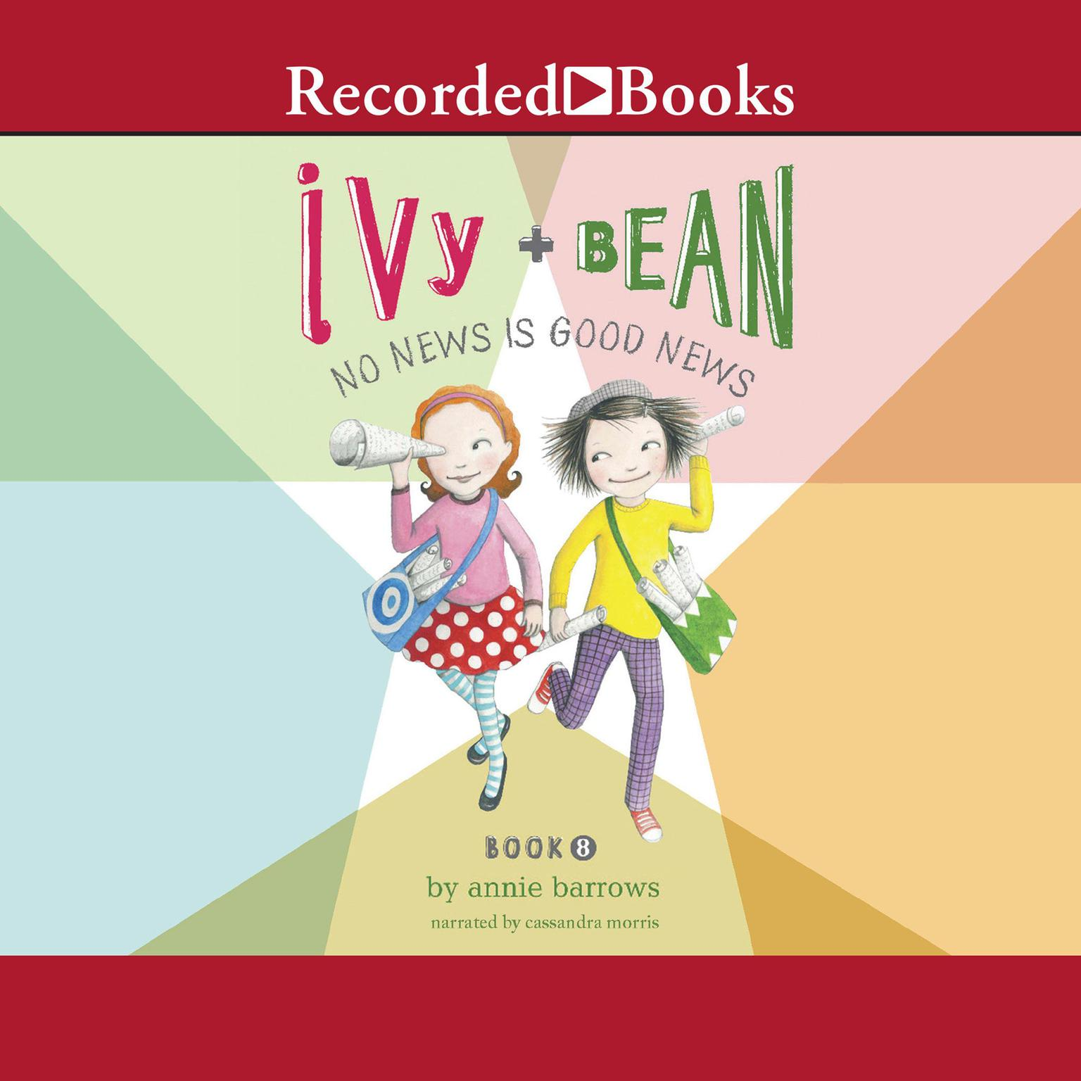 Printable Ivy and Bean: Audiobook Cover Art
