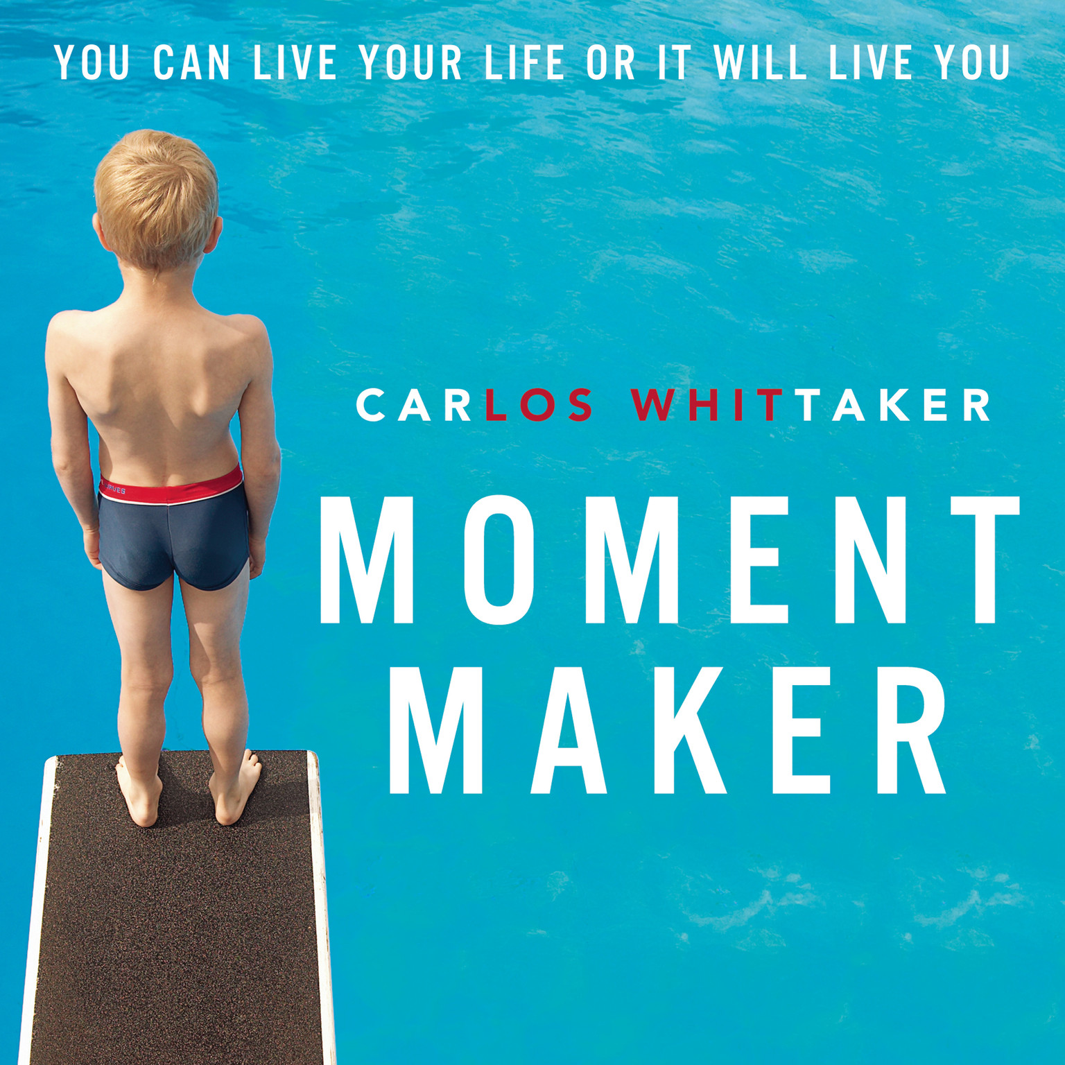 Printable Moment Maker: You Can Live Your Life or It Will Live You Audiobook Cover Art