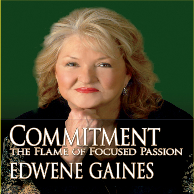 Printable Commitment...The Flame Focused Passion Audiobook Cover Art