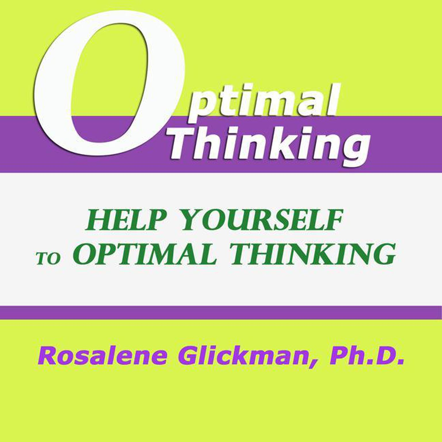 Printable Help Yourself to Optimal Thinking Audiobook Cover Art