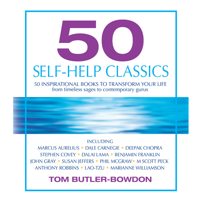 Printable 50 Self-Help Classics: 50 Inspirational Books to Transform Your Life, from Timeless Sages to Contemporary Gurus Audiobook Cover Art