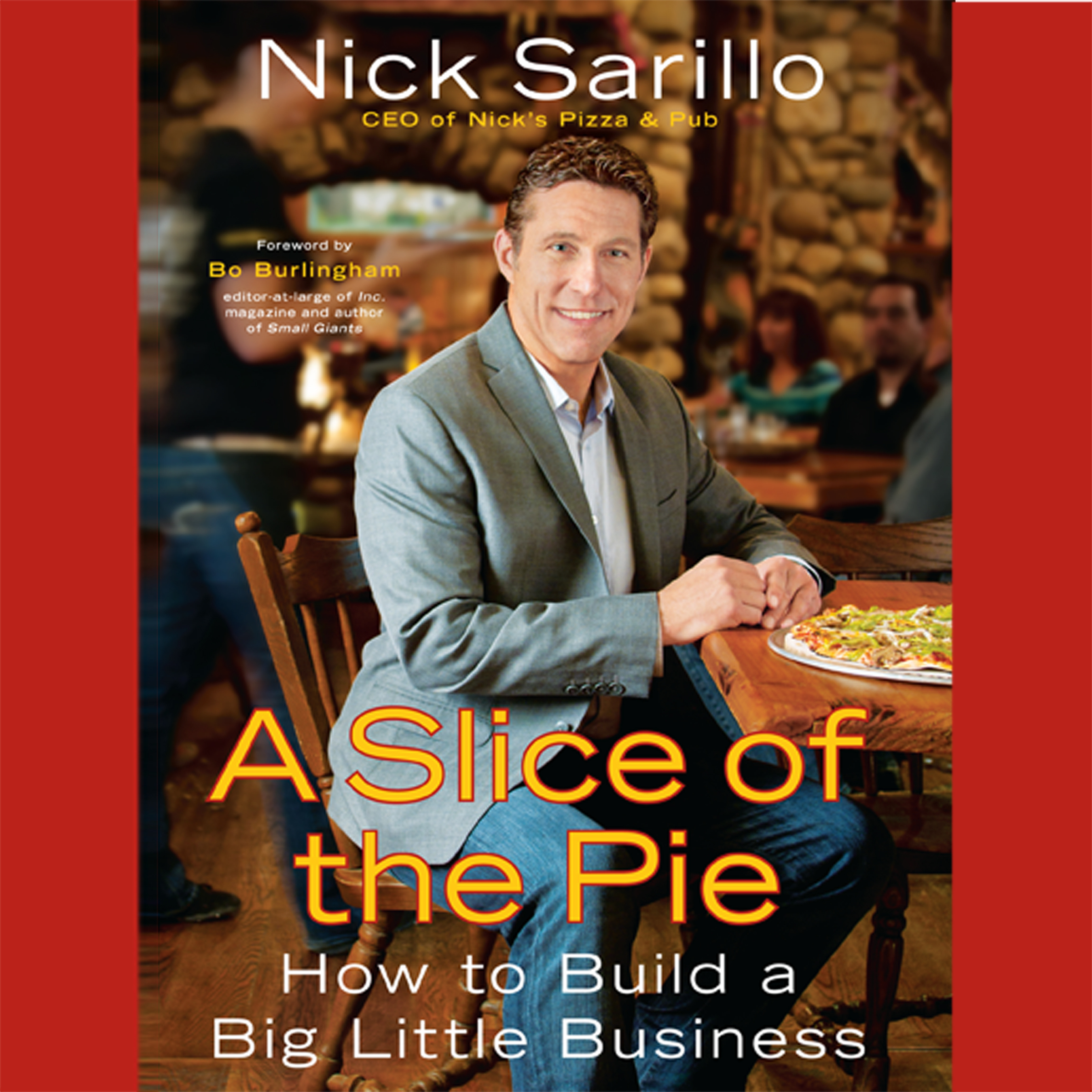 Printable A Slice the Pie: How to Build a Big Little Business Audiobook Cover Art