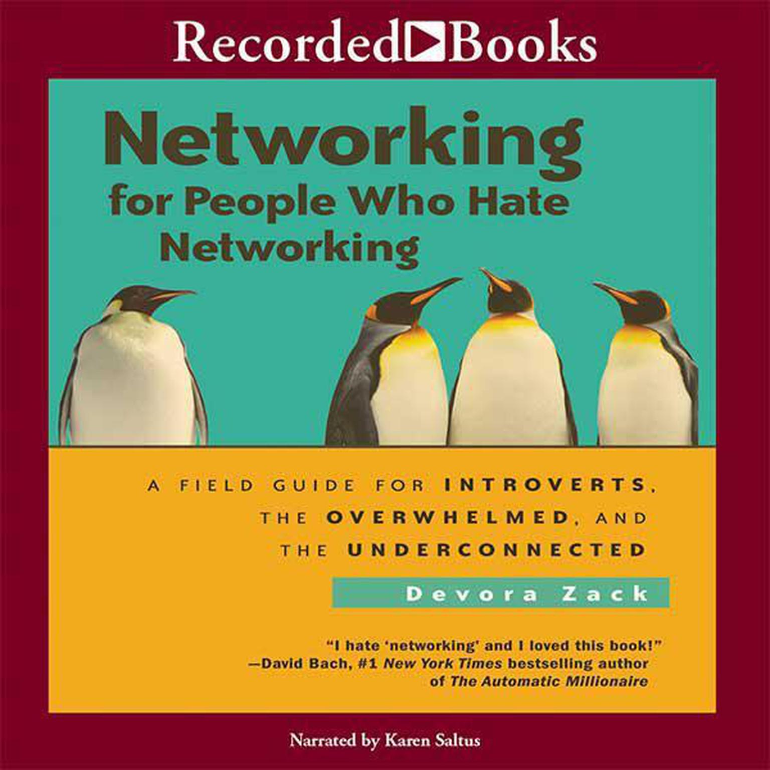 Printable Networking for People: A Field Guide for Introverts, the Overwhelmed, and the Underconnected Audiobook Cover Art