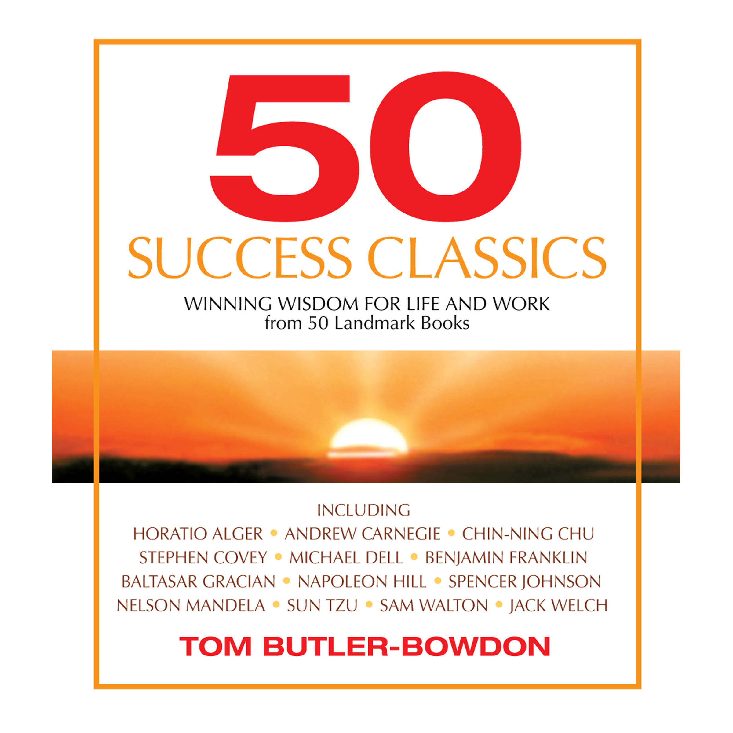 Printable 50 Success Classics: Winning Wisdom for Work & Life from 50 Landmark Books Audiobook Cover Art