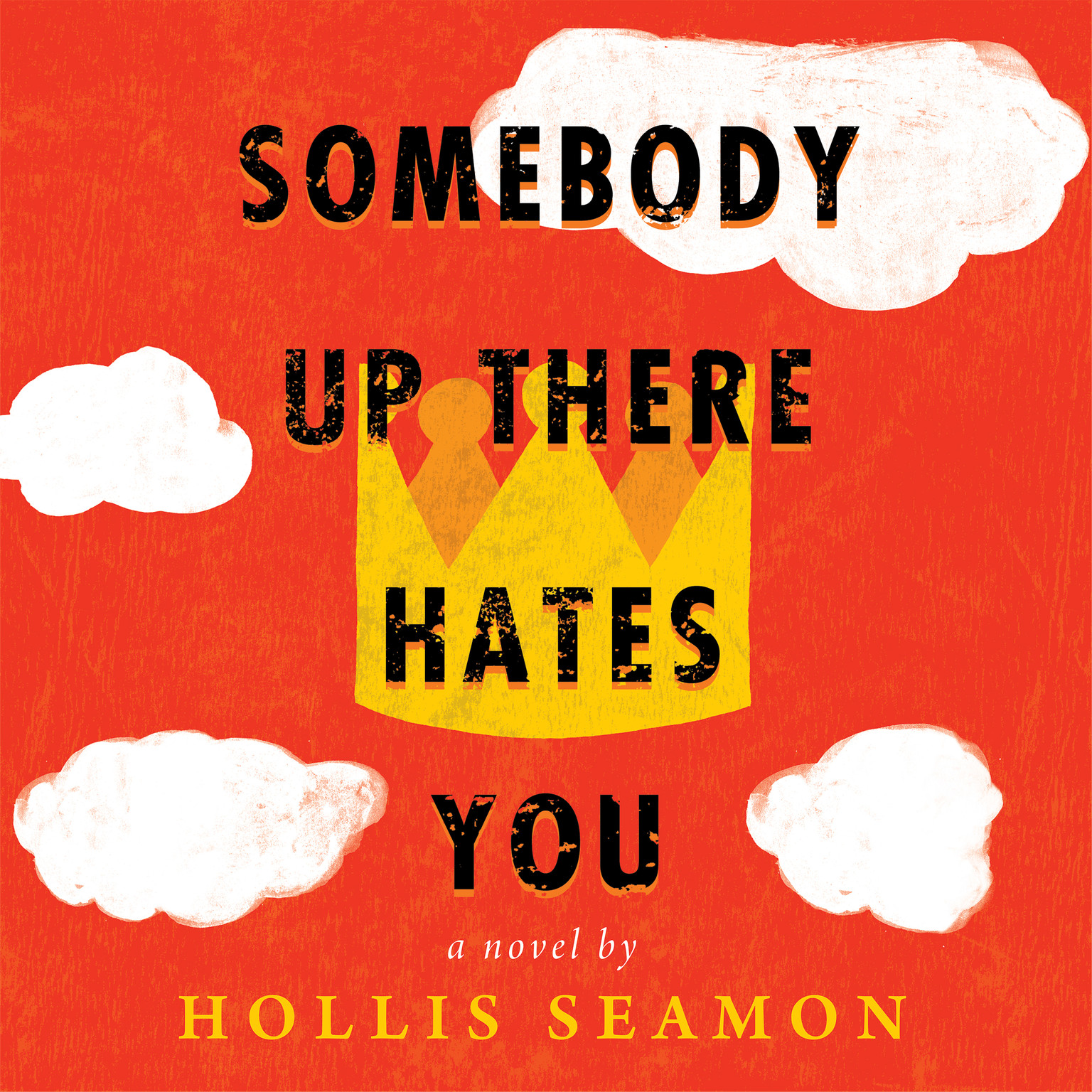 Printable Somebody Up There Hates You Audiobook Cover Art