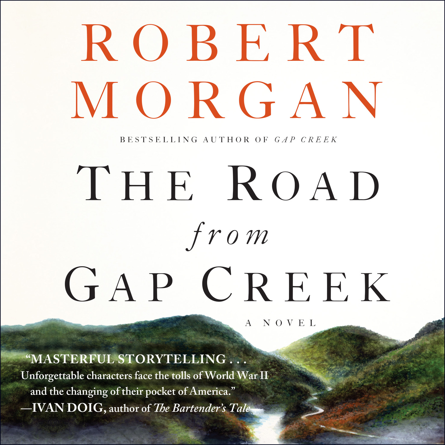 Printable The Road from Gap Creek Audiobook Cover Art