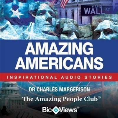 Printable Amazing Americans: Inspirational Stories Audiobook Cover Art