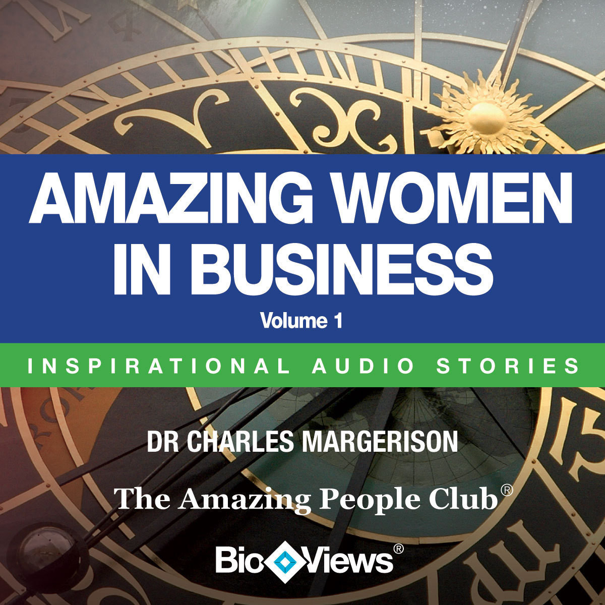 Printable Amazing Women in Business, Vol. 1: Inspirational Stories Audiobook Cover Art