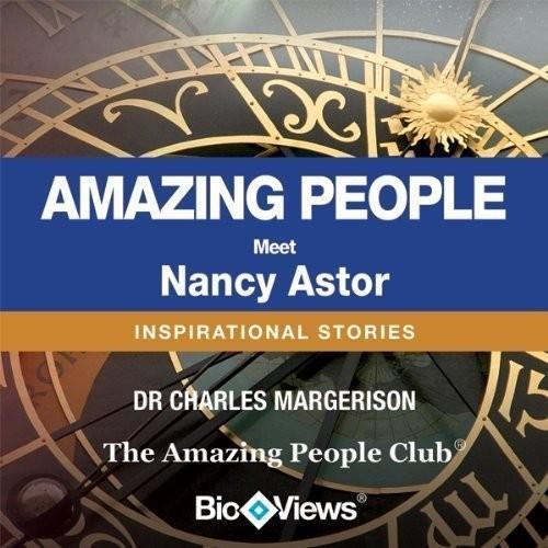 Printable Meet Nancy Astor: Inspirational Stories Audiobook Cover Art