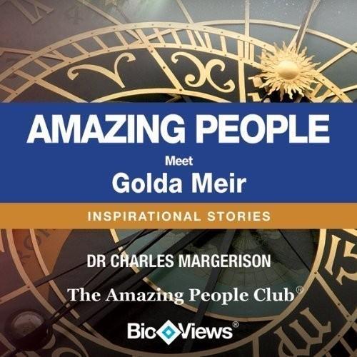 Printable Meet Golda Meir: Inspirational Stories Audiobook Cover Art