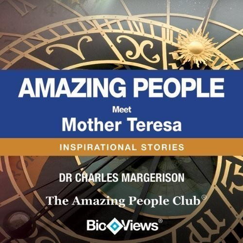 Printable Meet Mother Teresa: Inspirational Stories Audiobook Cover Art
