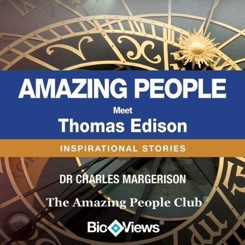 Printable Meet Thomas Edison: Inspirational Stories Audiobook Cover Art