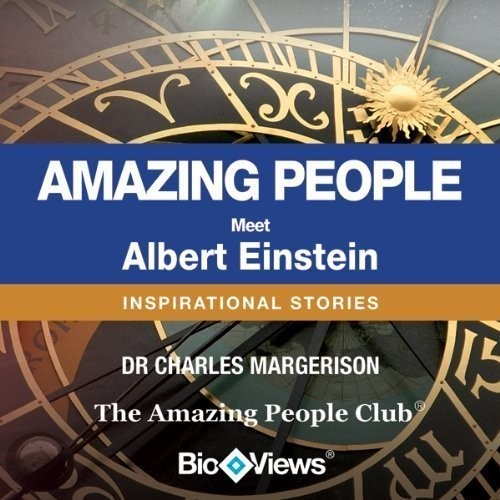 Printable Meet Albert Einstein: Inspirational Stories Audiobook Cover Art