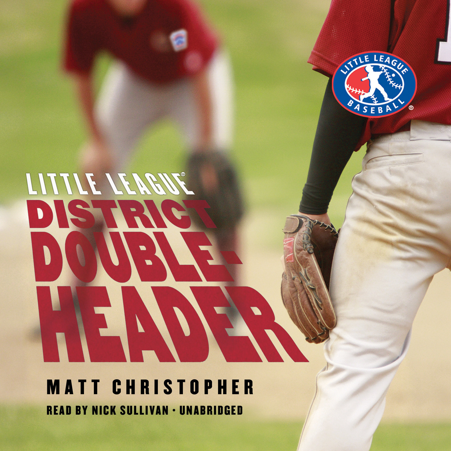 Printable District Doubleheader Audiobook Cover Art