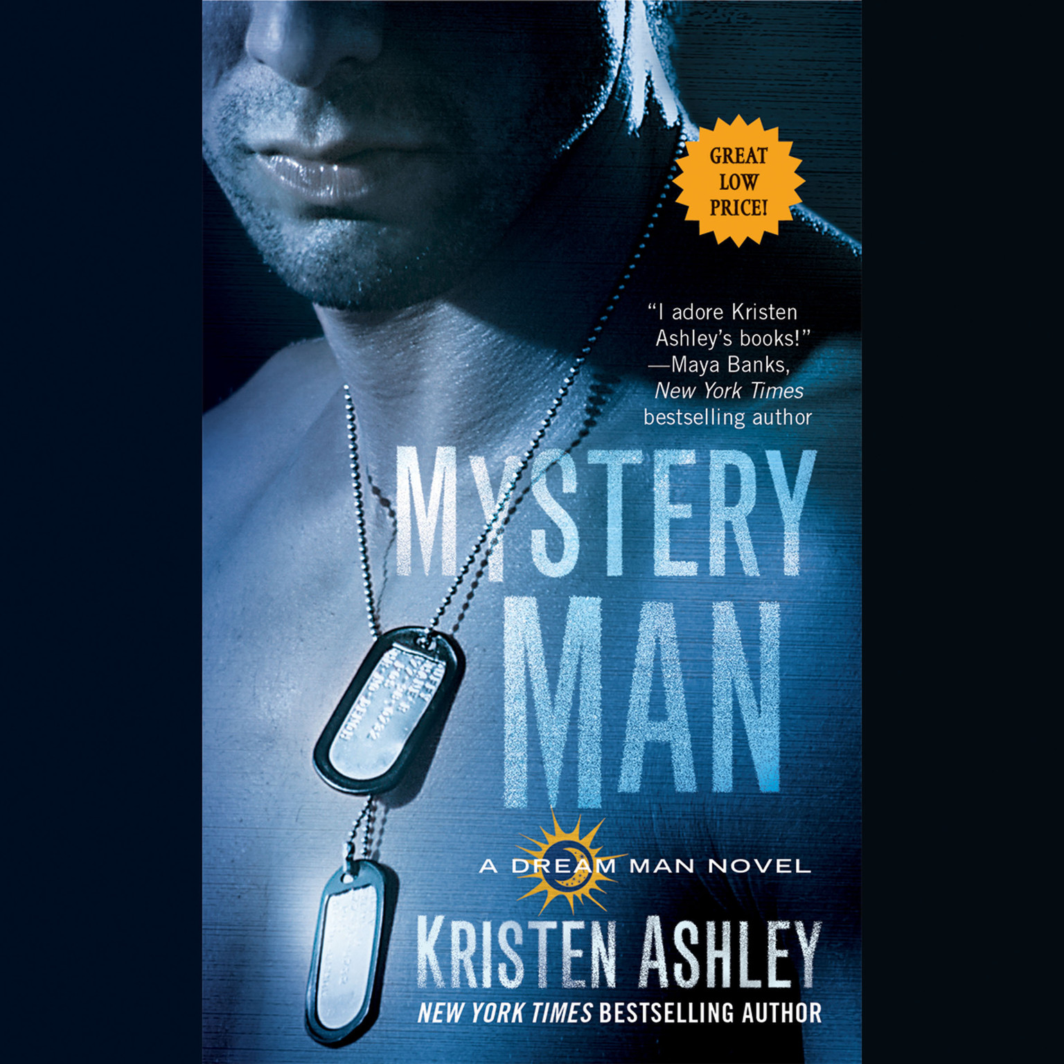 Printable Mystery Man Audiobook Cover Art