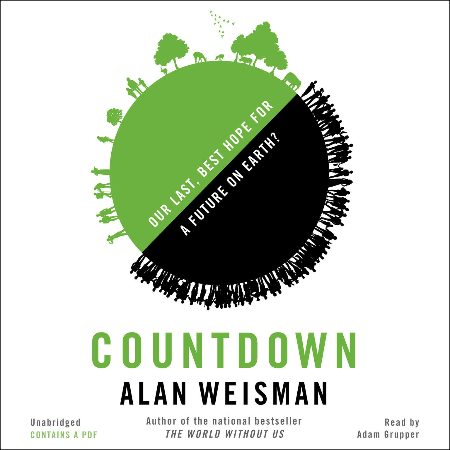 Printable Countdown: Our Last, Best Hope for a Future on Earth? Audiobook Cover Art