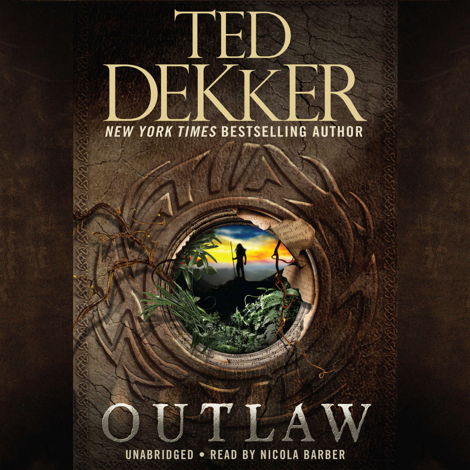 Printable Outlaw Audiobook Cover Art