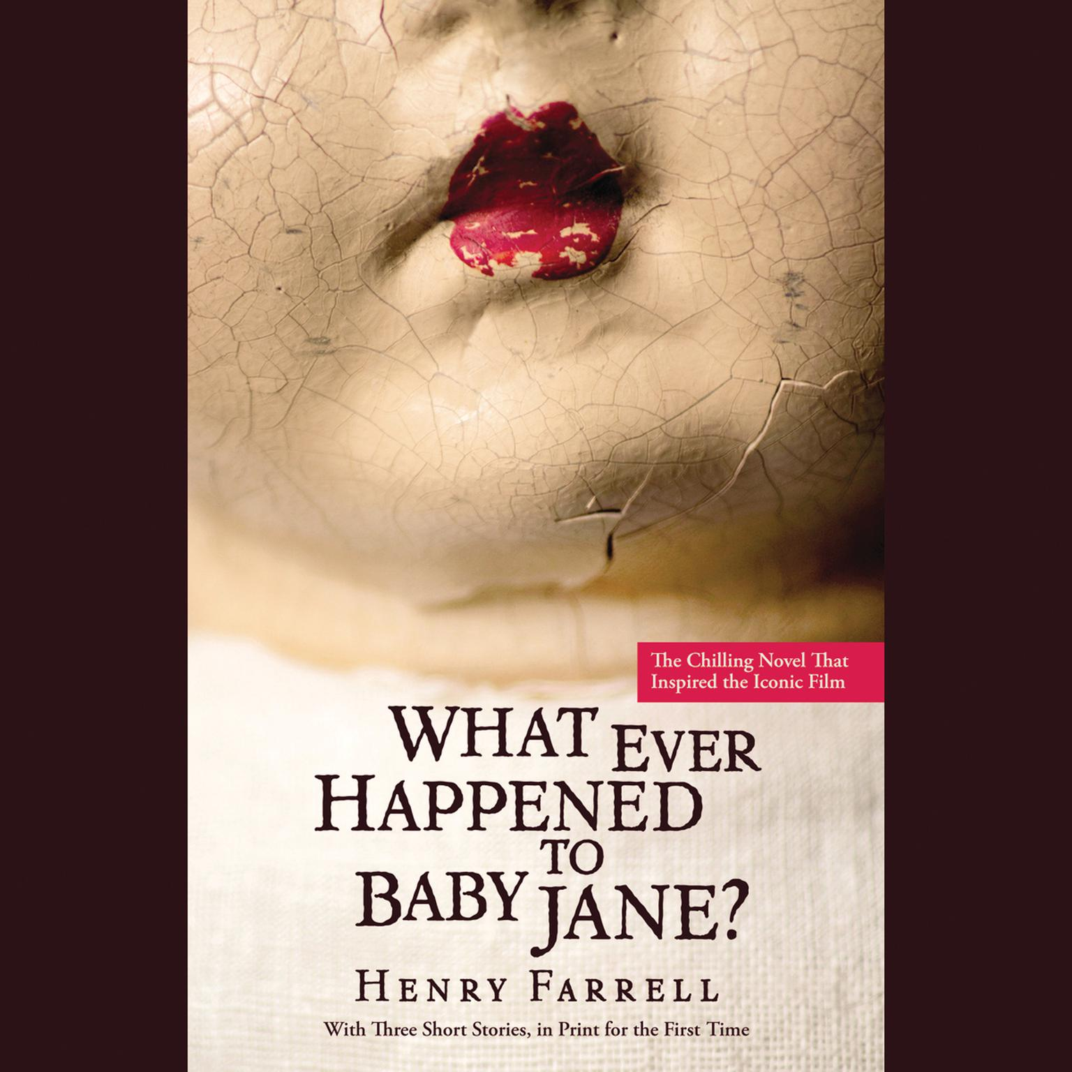 Printable What Ever Happened to Baby Jane? Audiobook Cover Art