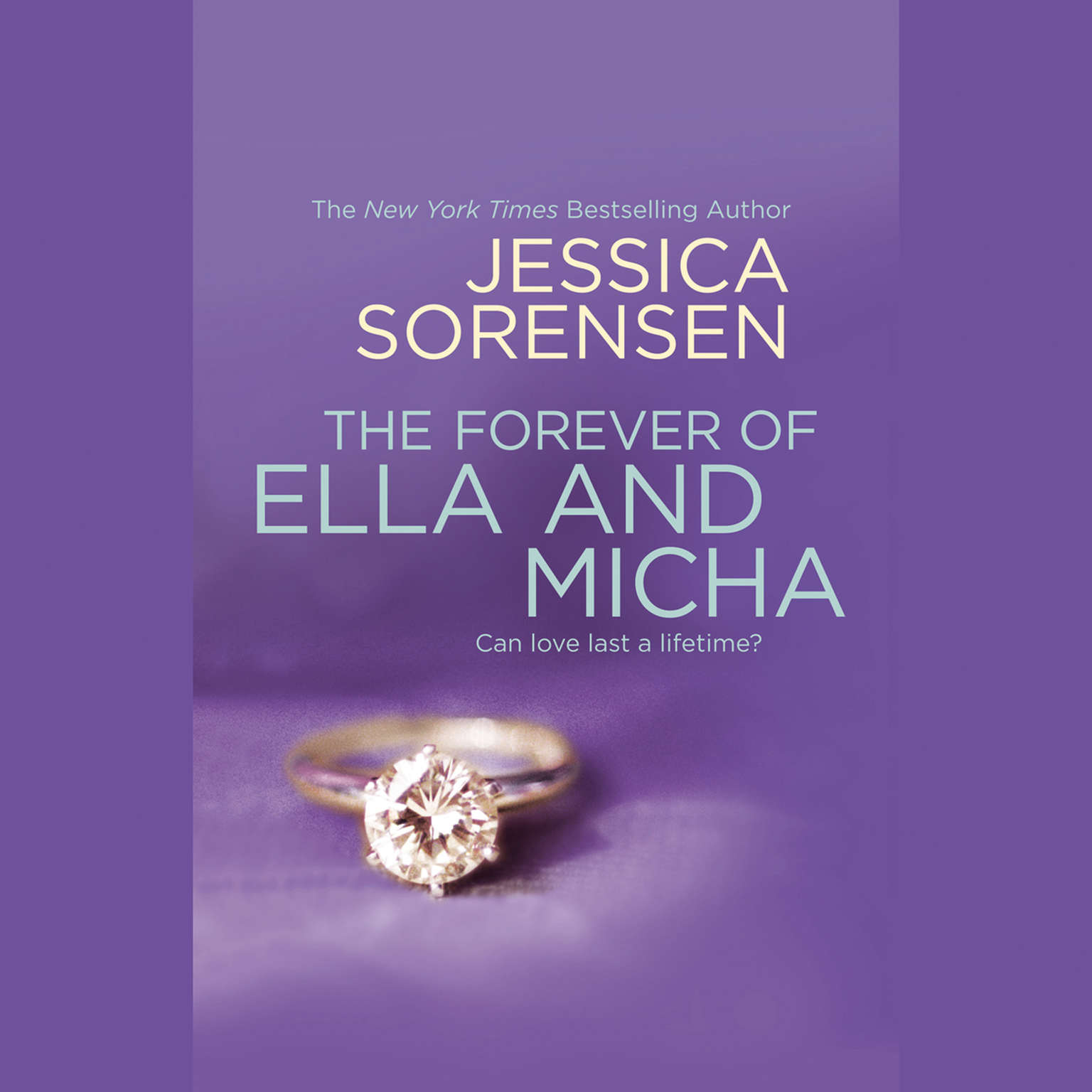 Printable The Forever of Ella and Micha Audiobook Cover Art