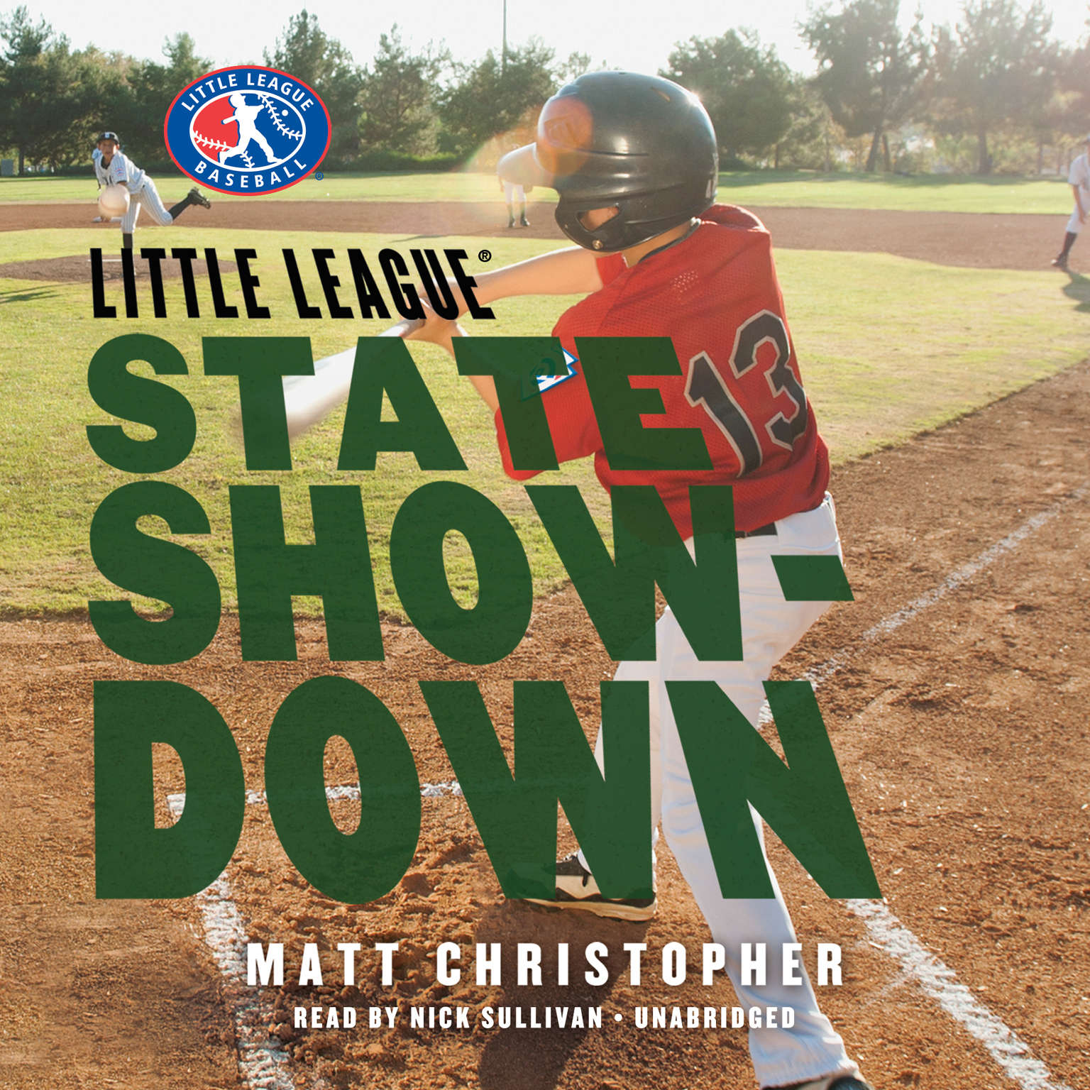 Printable State Showdown Audiobook Cover Art