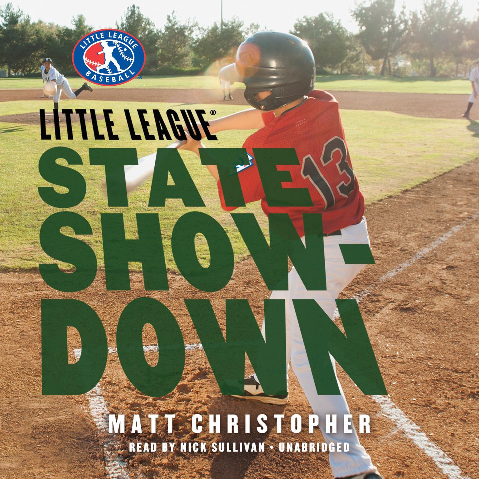 Printable State Showdown Audiobook Cover Art