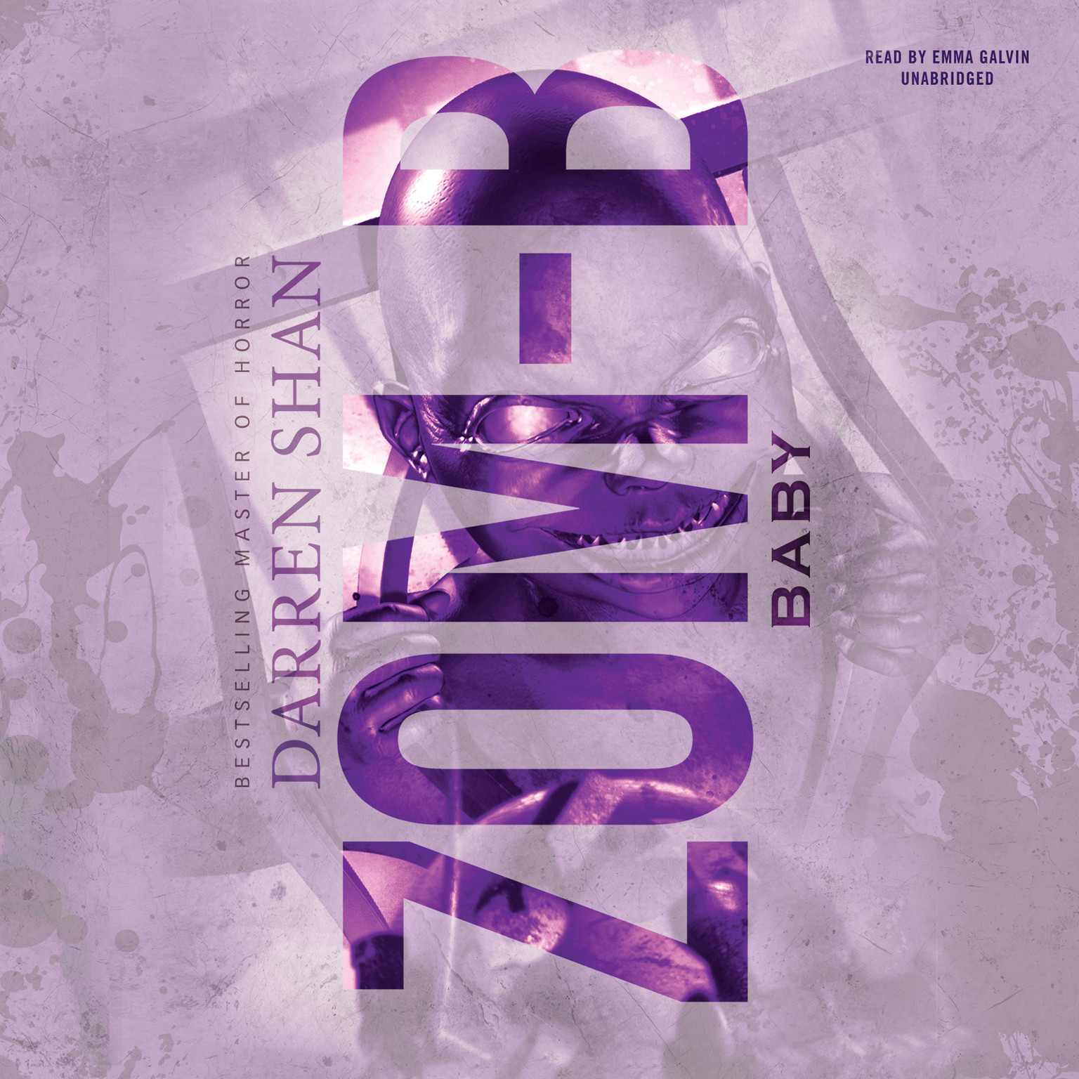 Printable Zom-B Baby Audiobook Cover Art