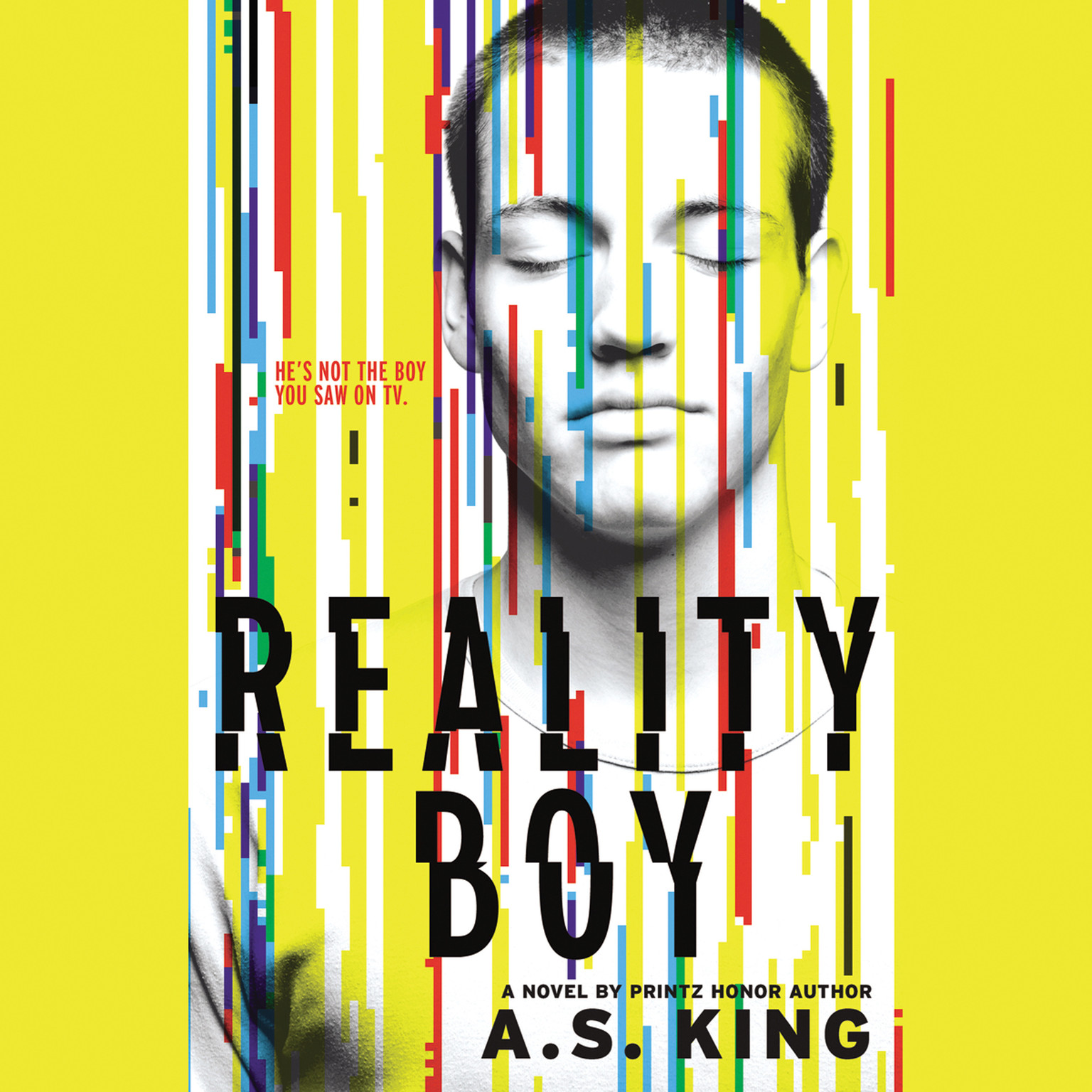 Printable Reality Boy Audiobook Cover Art