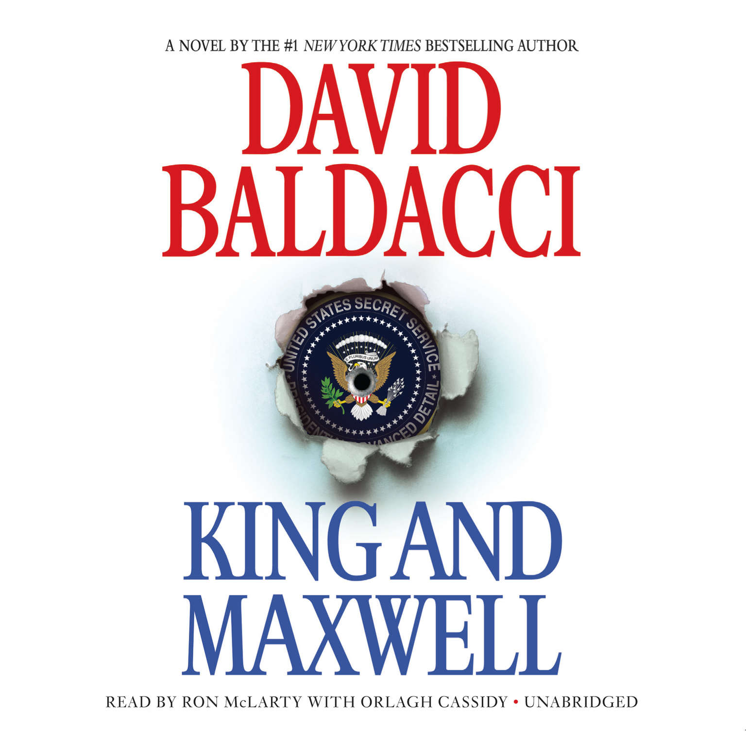 Printable King and Maxwell Audiobook Cover Art