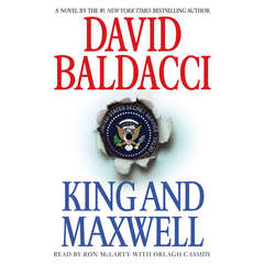 King and Maxwell Audiobook, by David Baldacci