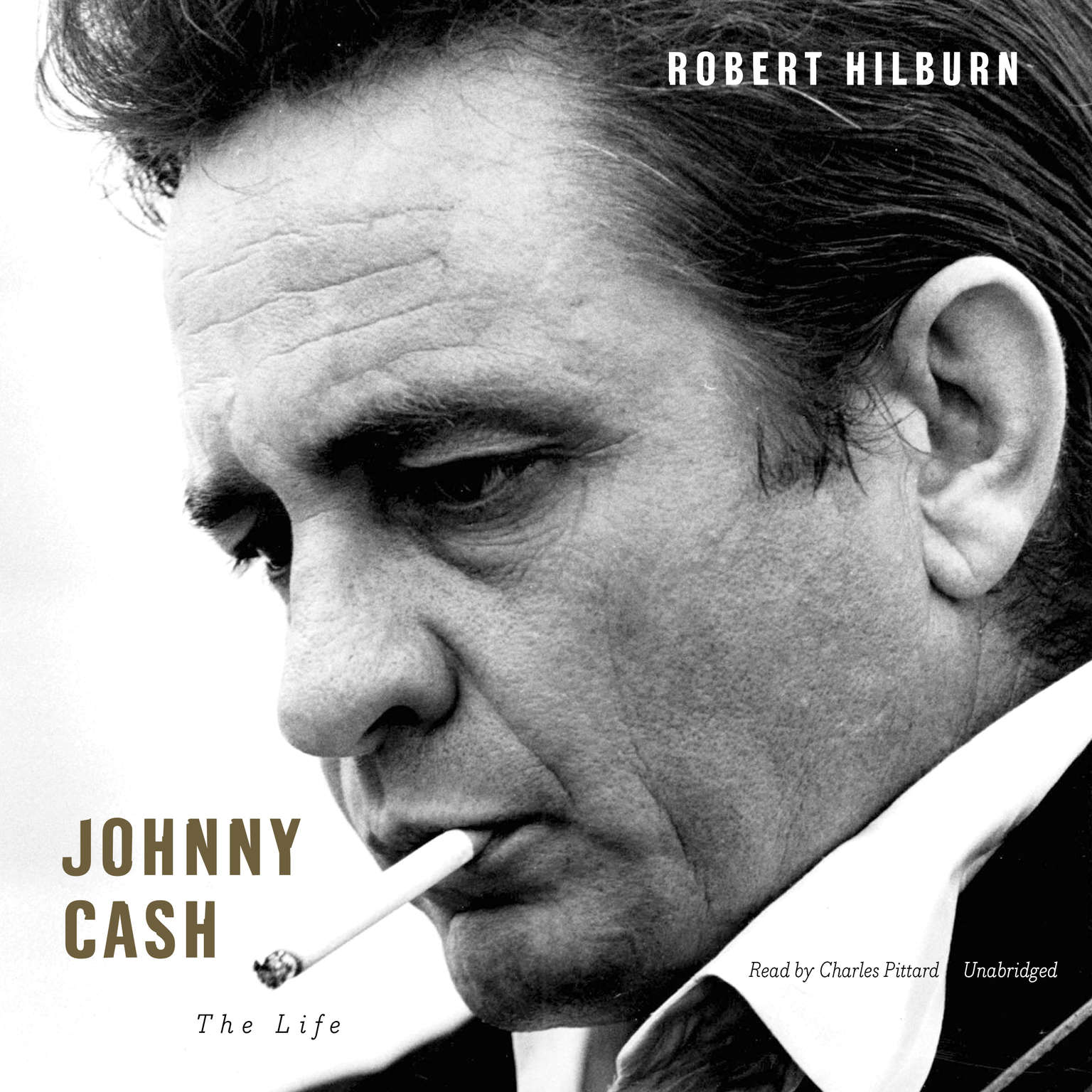 Printable Johnny Cash: The Life Audiobook Cover Art