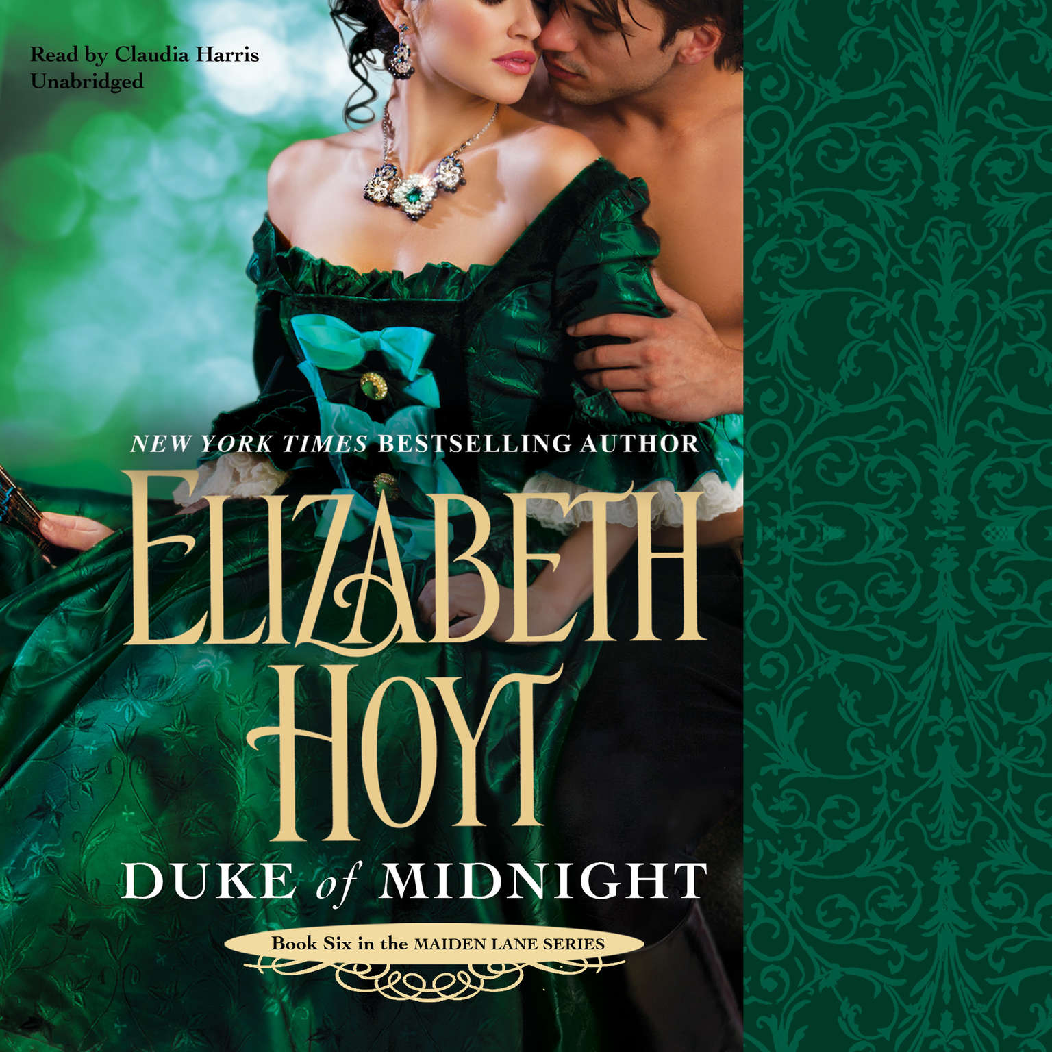 Printable Duke of Midnight Audiobook Cover Art