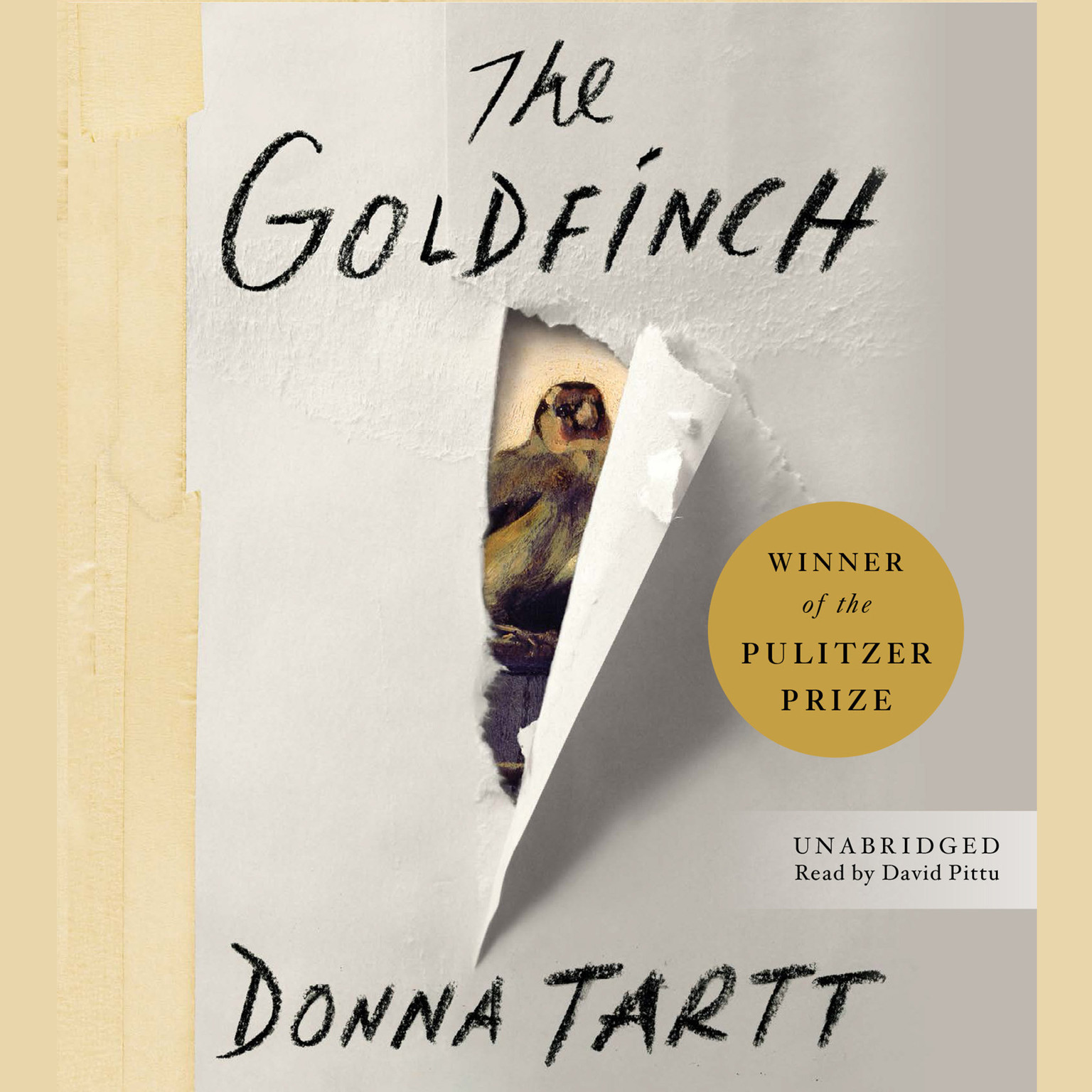 Printable The Goldfinch: Winner of the Pulitzer Prize for Fiction Audiobook Cover Art