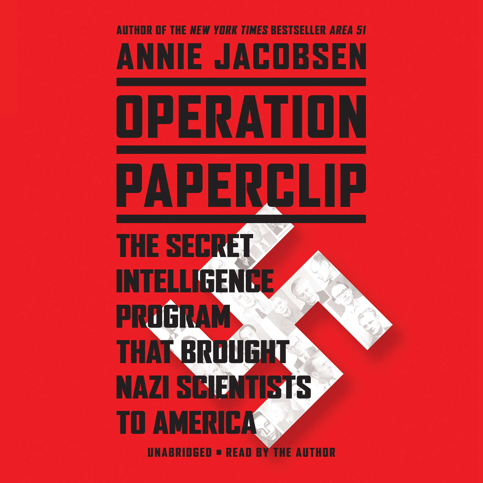 Printable Operation Paperclip: The Secret Intelligence Program that Brought Nazi Scientists to America Audiobook Cover Art