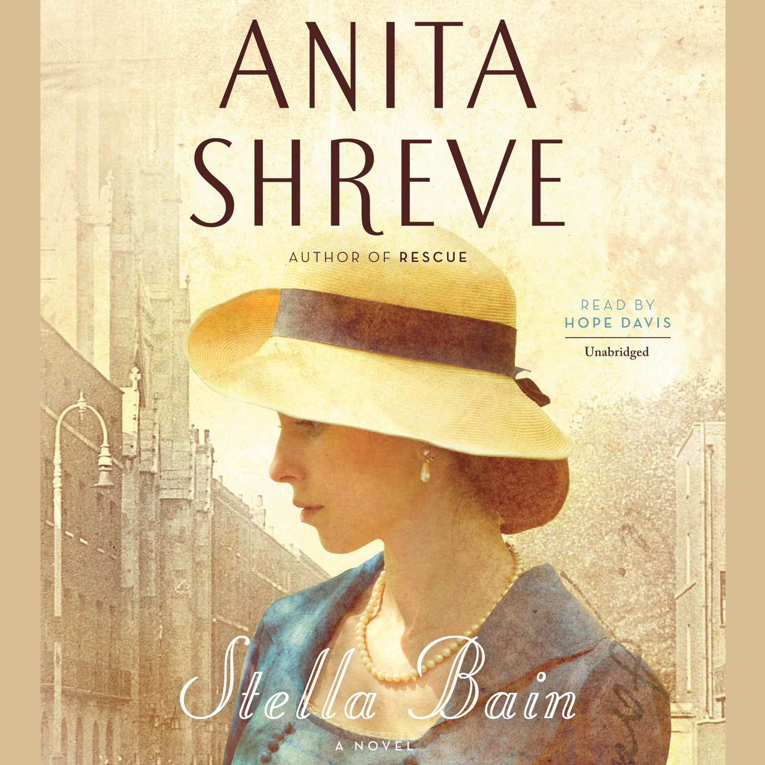 Printable Stella Bain Audiobook Cover Art