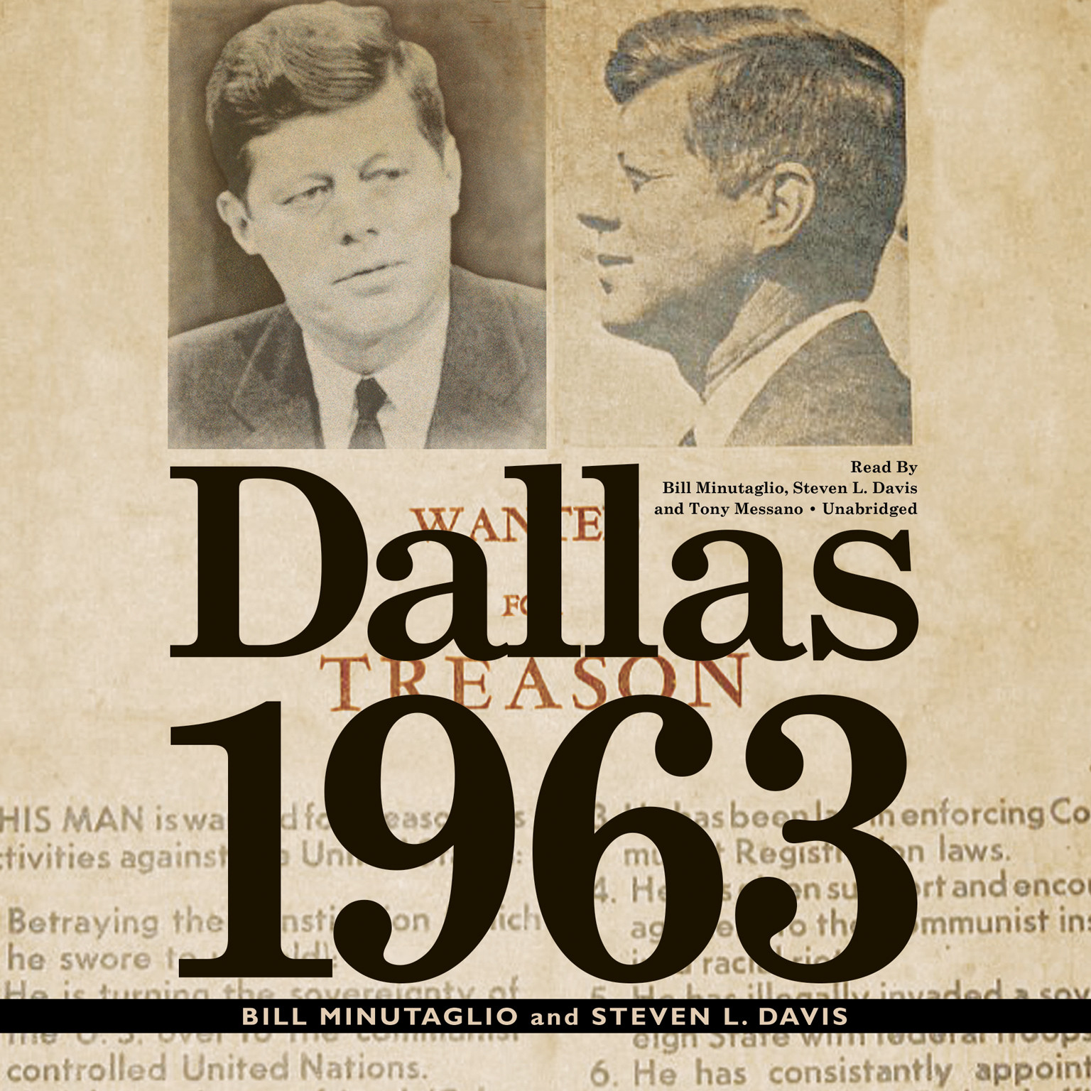 Printable Dallas 1963 Audiobook Cover Art