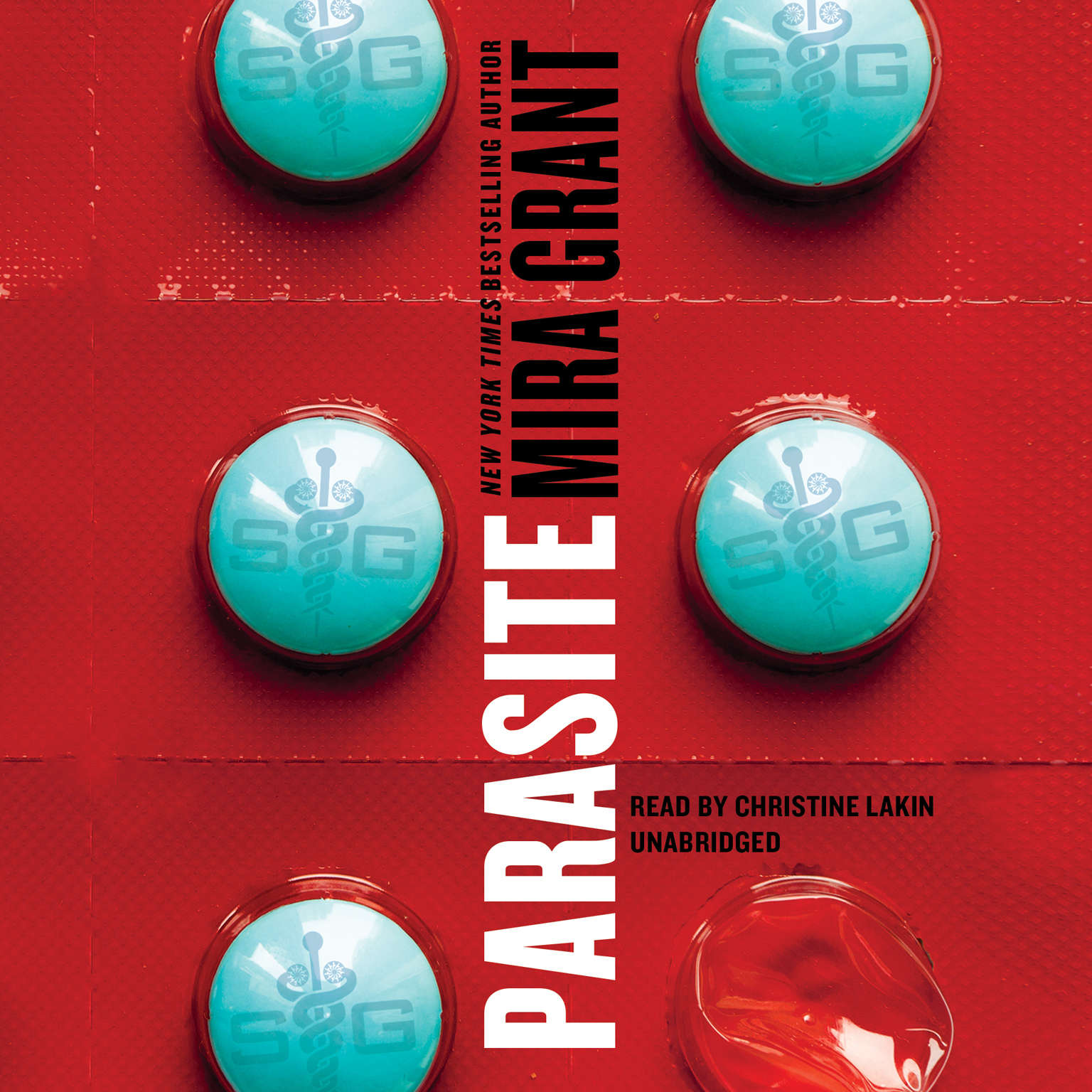 Printable Parasite Audiobook Cover Art