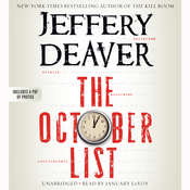 The October List Audiobook, by Jeffery Deaver